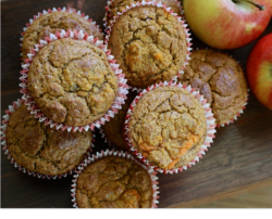 apple, muffins, gluten free, vegan