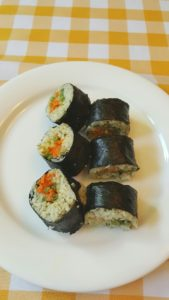 Veggie Sushi with Cauli-Rice